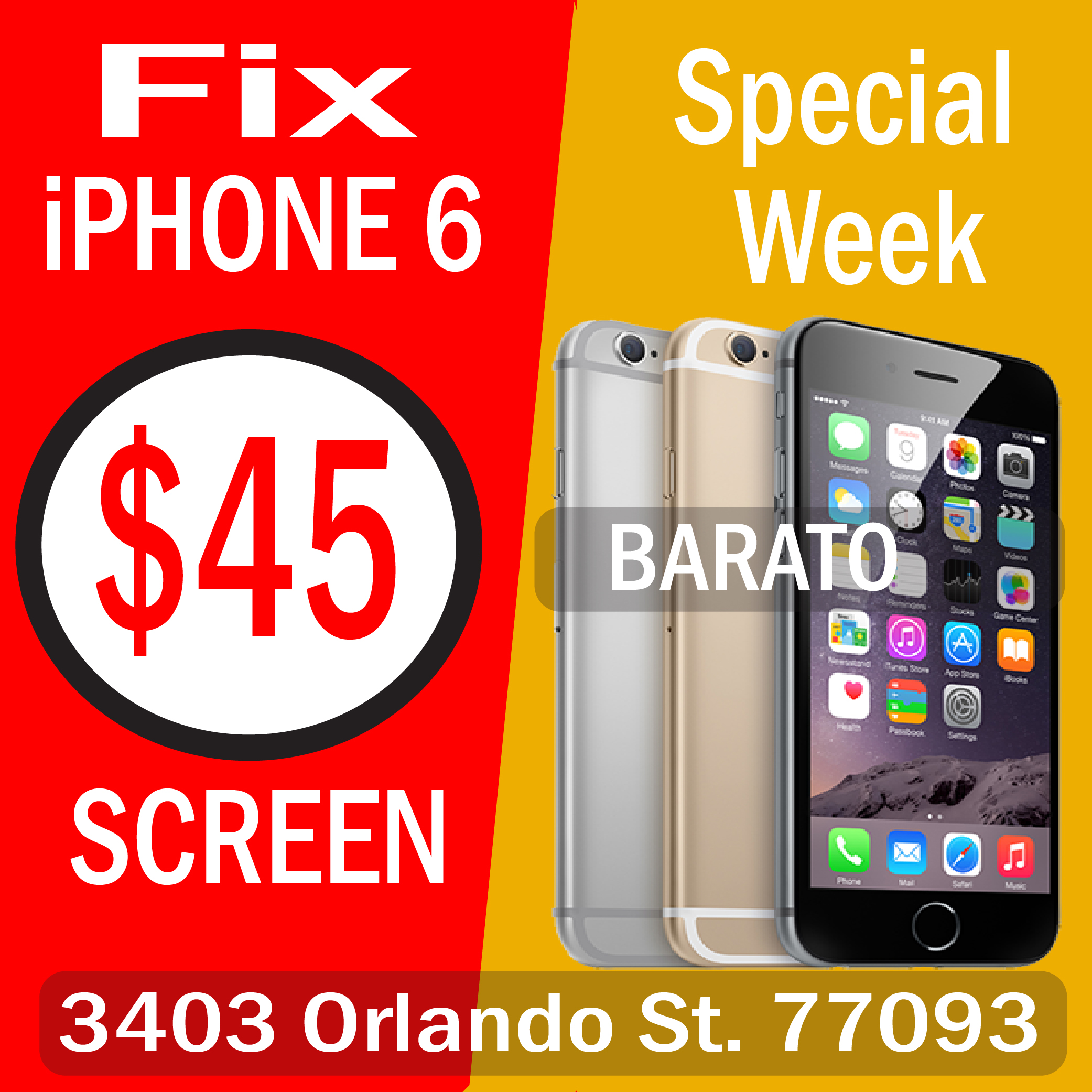 iPad Screen Repair Houston