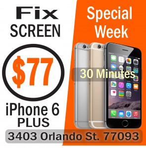 iphone 6 plus screen repair houston