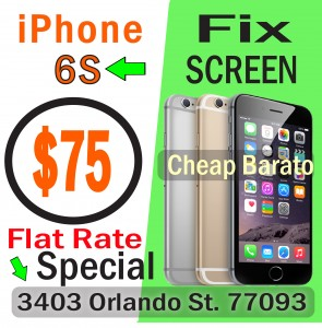 cheap iphone 6s repair houston