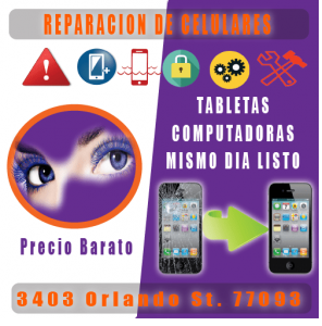 reparacion de iphones en houston
